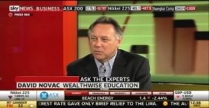 David Novac Trading Day Sky Business panel expert David Novac Wealthwise Education