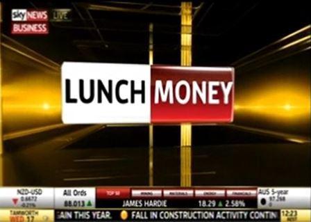 David Novac Lunch Money Sky Business