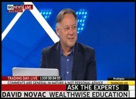 David Novac on Sky Business